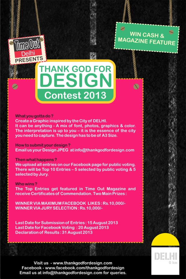 Competition Poster by THANK GOD FOR DESIGN