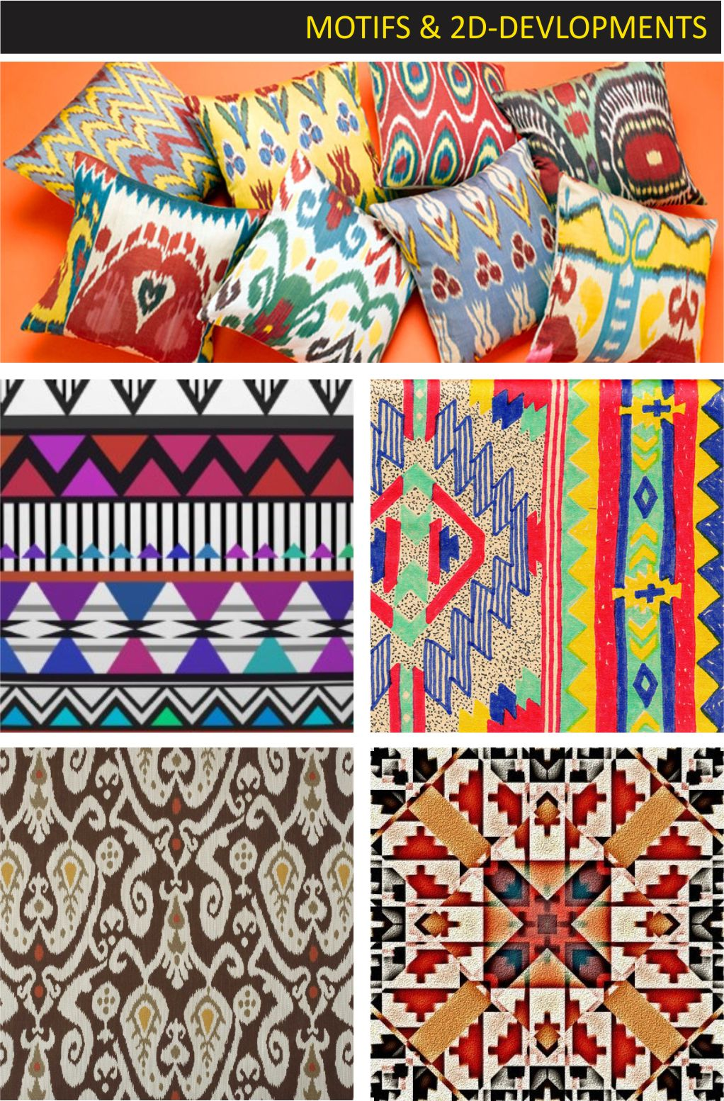 colorful tribal wallpaper design joy studio design