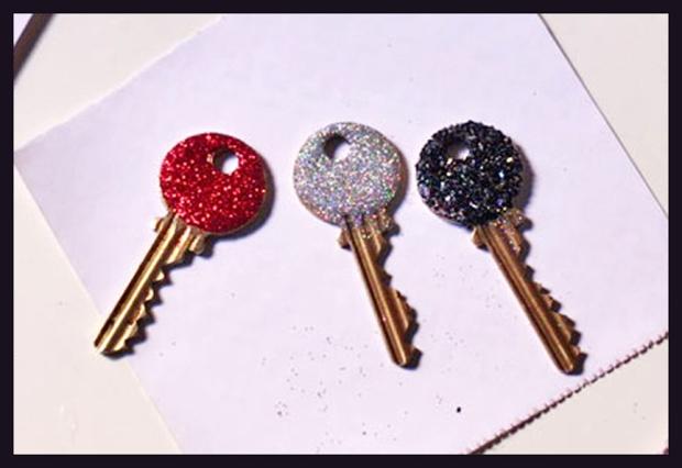 DIY_Glitter_Keys