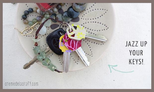 printed paper keys